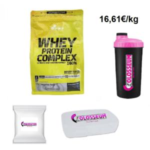 Olimp Whey Protein Complex 100%  2,27kg 2270g  Eiweiss GRATIS Bonus wählbar
