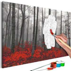 Malen nach Zahlen Erwachsene Wandbild Malset mit Pinsel Malvorlagen n-A-0663-d-a
