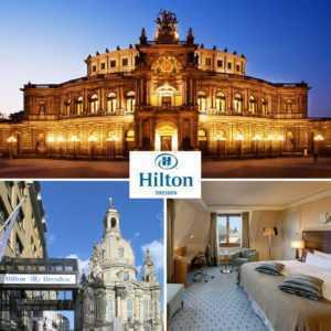 2-5 Tage Luxus à la Hilton Dresden Städtereise Top Lage an der Frauenkirche