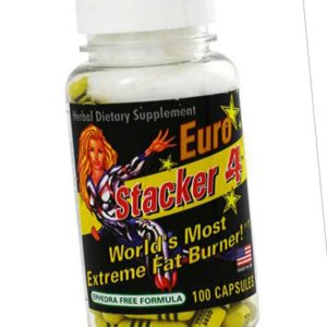 Stacker Europe Stacker Fat Burner 100 Caps Diät Fettverbrennung Fitness Sport