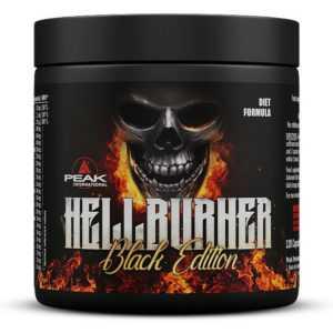 Peak - Hellburner Black Edition - 120 Kapseln / Fatburner Diät Vegan / NEU OVP