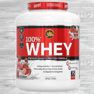 All Stars 100% Whey Protein 2270g Dose  21,10 €/kg  AllStars Eiweiss Shake