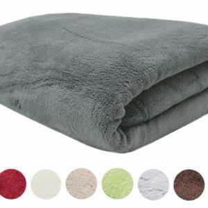 Fleece-Decke / Wolldecke XXL / Kuscheldecke / Plaid ca. 150x200 oder 220x240 cm