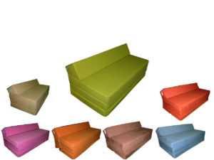 Sessel Gästebett Schlafsessel Klappmatratze Sofa Schlafsofa Doppelbett Matratze