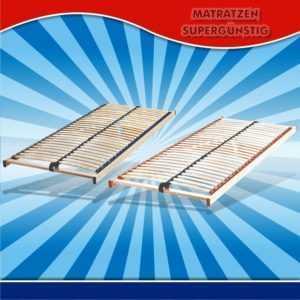 Lattenrost in Härtegrad 3 oder 4, Größe 90/200cm Größe 100/200cm  Größe 140/200
