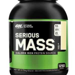 (10,66EUR/kg) Optimum Nutrition - Serious Mass 2,72kg Dose