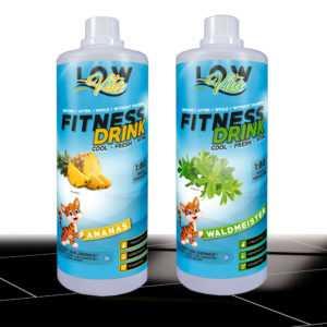 9,90€/Ltr. LowVita Fitness Drink Getränkesirup 2 x 1000 ml Mineraldrink Sirup