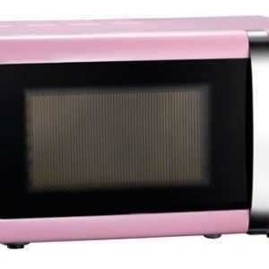 Rosa Mikrowelle Melissa 16330112 pink Mikrowellengerät Mikrowellenherd 700 Watt