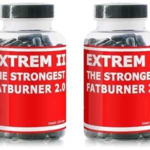2x Fatburner Extrem II schnell abnehmen Diät Kapseln Turbo Slim Fettverbrennung