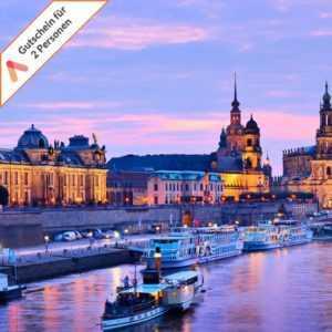 Städtereise Dresden West 4 Tage Hotel für 2 Personen Kurzurlaub Hotelgutschein