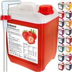 Mineraldrink Getränkekonzentrat Sirup 5L Electrolyte Vitamine Vitaldrink Light