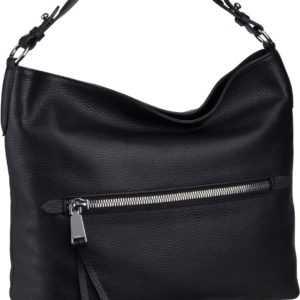 abro Handtasche Calf Adria 28517 Black/Nickel ab 185.00 (229.00) Euro im Angebot