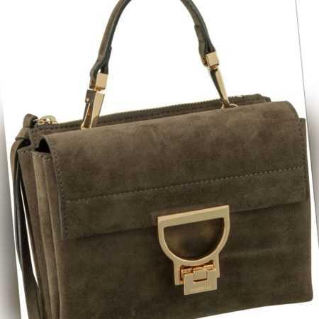 Coccinelle Handtasche Arlettis Suede 55B7 Evergreen ab 270.00 () Euro im Angebot