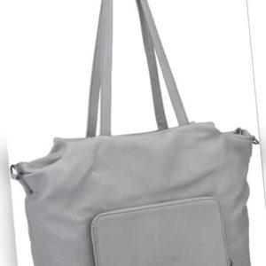 Fritzi aus Preußen Handtasche Dala Super Grain Light Grey ab 68.90 (79.90) Euro im Angebot