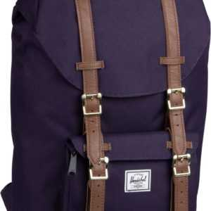 Herschel Laptoprucksack Little America Mid Volume Purple Velvet/Tan (16.5 Liter) ab 94.90 (109.00) Euro im Angebot
