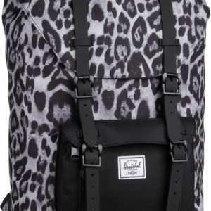 Herschel Laptoprucksack Little America Mid Volume Snow Leopard/Black (16.5 Liter) ab 94.90 (109.00) Euro im Angebot