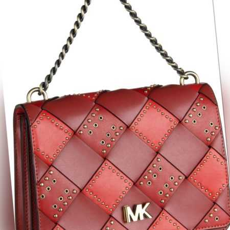 Michael Kors Handtasche Mott Large Chain Swag Shoulderbag Terracotta/Multi ab 319.00 (395.00) Euro im Angebot