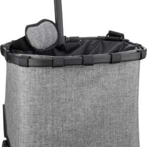 reisenthel Einkaufstasche carrycruiser Twist Silver (40 Liter) ab 111.00 (129.95) Euro im Angebot