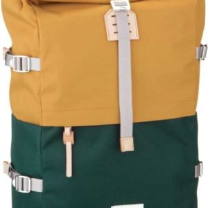 Sandqvist Laptoprucksack Bernt Rolltop Backpack Multi Honey Yellow/Dark Green (20 Liter) ab 143.00 () Euro im Angebot