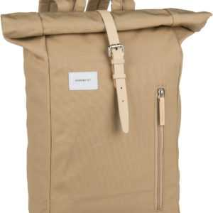 Sandqvist Laptoprucksack Dante Backpack Beige/Natural Leather (18 Liter) ab 103.00 (119.00) Euro im Angebot