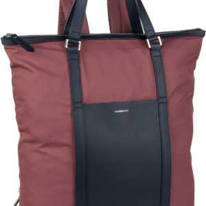 Sandqvist Rucksack / Daypack Marta Backpack Maroon/Navy Leather (12 Liter) ab 138.00 () Euro im Angebot