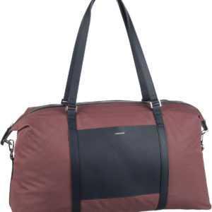 Sandqvist Sporttasche Hellen Gym Bag Maroon/Navy Leather (20 Liter) ab 147.00 (179.00) Euro im Angebot