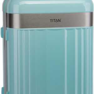 Titan Trolley + Koffer Spotlight Flash 4-Wheel Trolley M Mint (69 Liter) ab 109.95 () Euro im Angebot