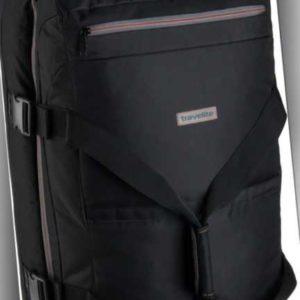 travelite Rollenreisetasche Basics Doppeldecker Trolley Reisetasche II Schwarz (94 Liter) ab 65.90 (79.90) Euro im Angebot