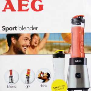Fitness-Drink-Mixer Milch-Shaker Sport Blender Mix-Becher AEG NEU