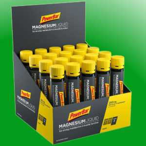 (39,90€/l)   PowerBar Magnesium liquid  -  20 Ampullen a 25ml