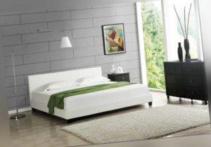 Modernes Doppelbett Polsterbett 180x200cm Bettgestell Bett Lattenrost Bettrahmen