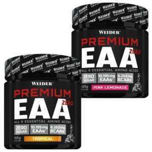 WEIDER Premium EAA Zero Powder - 325 g Dose / Pulver - Aminosäuren BCAA - NEU