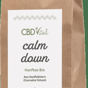 Hanftee Bio - calm down ab 11.90 Euro im Angebot