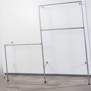 Dachschräge Kleiderständer Wandregal Kleiderzimmer Textilregal Garderobe NEU W12