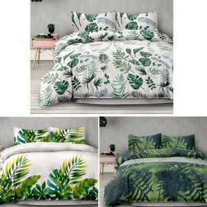 Bettwäsche Garnitur 100% Baumwolle 200x200 220x155 Übergröße Bettbezug Bettenset