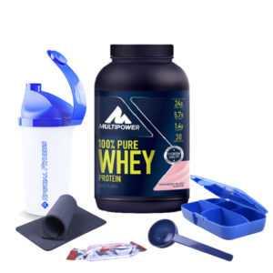 28,77€/kg - Multipower 100%* Pure Whey Protein Eiweiß 900g Dose + BONUS