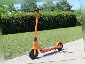 Elektro Scooter Escooter Roller Elektroroller Aluminium E-Scooter 500W orange