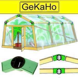 Vario Quick Steckelemente Gewächshaus Steckverbinder für Pavillon Zelt Partyzelt