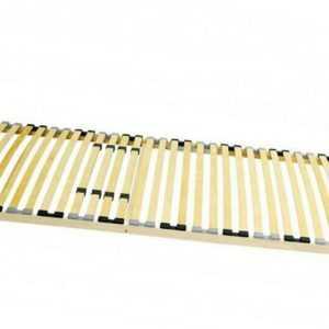 Lattenrost BASIC starr 80 90 100 120 140 x 200 Härtegrad verstellbar 28 Leisten