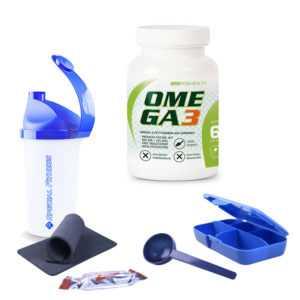 SRS Omega 3, 60 Kapseln Hochwertig Mineralien Fitness + BONUS