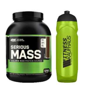 (11,70 EUR/kg) Optimum Nutrition Serious Mass 2727g Weight Gainer + Trinkflasche