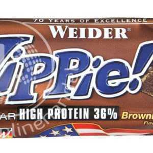 Weider YIPPIE! Bar 12x 45g (36,15€/Kg) Protein Eiweiß Riegel !Mixed 7 Sorten