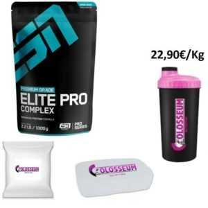 ESN Elite Pro Complex  1000g Protein Eiweiss GRATIS Bonus wählbar