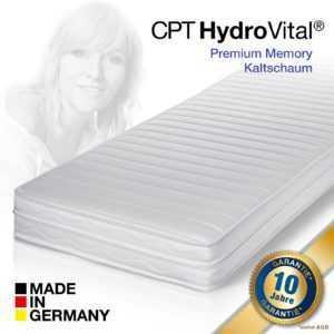 7 Zonen CPT Hydrovital® 16 Comfort Plus Kaltschaum Matratze 140x200 H4