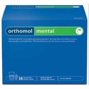 ORTHOMOL mental Granulat 30 Beutel Monatspackung PZN 05382070 TOPANGEBOT