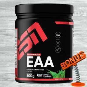 ESN EAA Pulver 500g Dose 57,80 €/kg BCAA Aminosäuren + Bonus