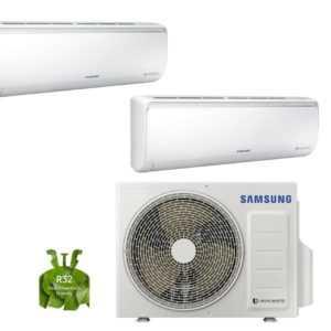SAMSUNG BORACAY Wandklimagerät 2 x 20m2 Klimaanlage Wärmepumpe Klimagerät NEU ; EEK A++