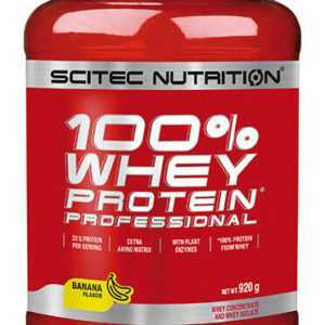 Scitec Nutrition 100% Whey Protein Professional 920g Eiweisspulver Molke + BONUS