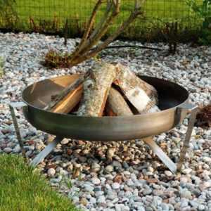 Feuerschale Feuerkorb massiv Stahl 3,5mm Edelstahl  VERSANDKOSTEN FREI DPD