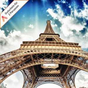 Kurzurlaub Paris 3 Tage für 2 Personen zentrales Boutique Hotel Alpha Gutschein
